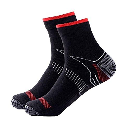 Preisvergleich Produktbild NOVINEAK Plantar Fasciitis Socken Fuß Compression Socks.Heel Knöchel Arch Support für Männer und Frauen.Erhöhen Sie die Durchblutung, reduzieren Schwellungen, Fußschmerzen Relief.
