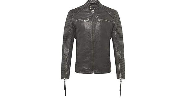 TIGHA Boas Lederjacke Größe: L Farbe: Black Farbschema