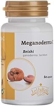 Jellybell Meganoderma C Reishi, Suplemento de Hierbas - 60 Cápsulas