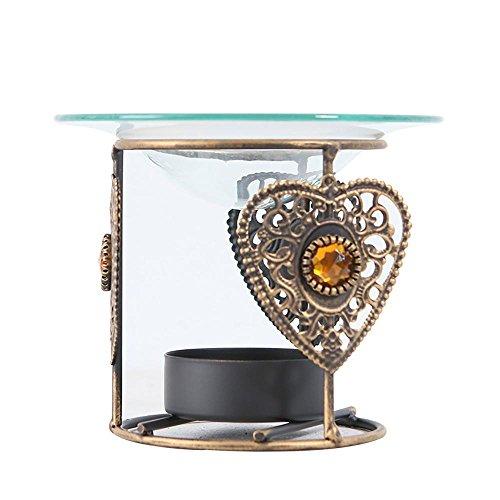 Glas Teelicht Böhmen Kerzenständer für Hochzeit Dekor Zuhause Mittelstücke ()