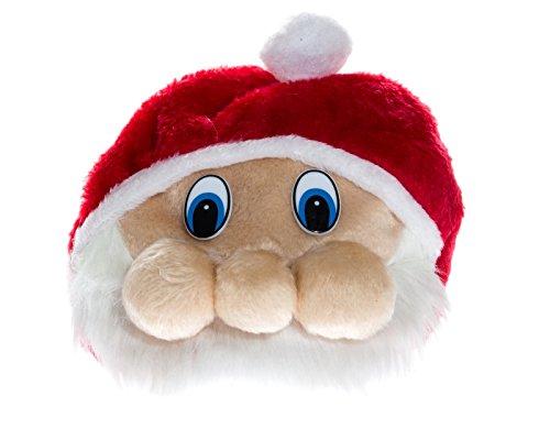 Kascha Weihnachtsmütze - Plüsch Mütze im Weihnachtsmann/Santa Claus/Nikolaus Design Rot - Nikolausmütze