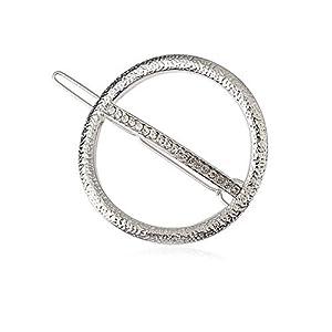 Sangni Einfacher kreisförmiger Clip mit hohlem Haar
