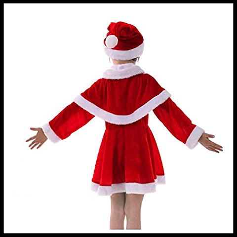 FEI&S gold vestiti per bambini I bambini di età compresa tra 3-12 prestazioni abbigliamento abbigliamento Natale 5 piece