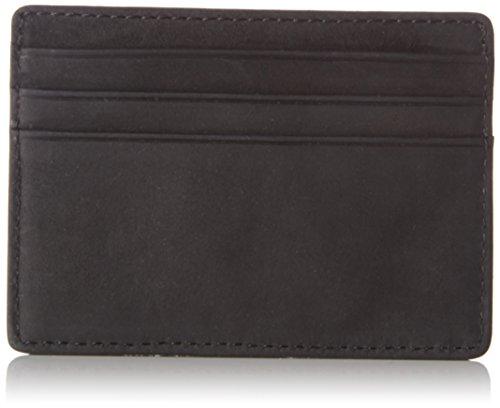 Tommy Hilfiger Herren EMBOSS CC HOLDER Ausweis- & Kartenhülle, Schwarz (Black), 0.5x7.2x10 cm