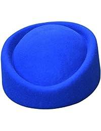 Sombrero de Lawliet para mujer, de fieltro de lana, para bodas