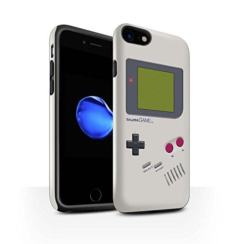 STUFF4 Glanz Harten Stoßfest Hülle / Case für Apple iPhone 8 Plus / Nintendo Game Boy Muster / Spielkonsolen Kollektion Nintendo Game Boy