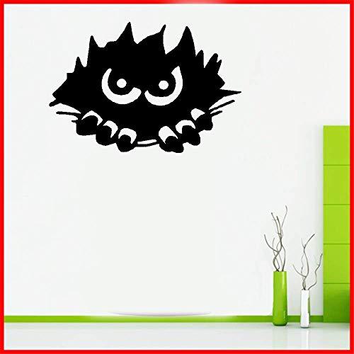 dtattoo Schlafzimmer Unheimlich Monster Spähen Halloween Party Aufkleber für Kinderzimmer Kinderzimmer Schlafzimmer Home Decor ()