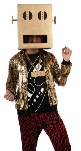 Lmfao Kostüm - ? Party Rock Anthem Adult Costume Halloween size of LMFAO Shuffle Bot Party Rock Anthem Adult Costume LMFAO shuffle bot: X-Large (japan import)