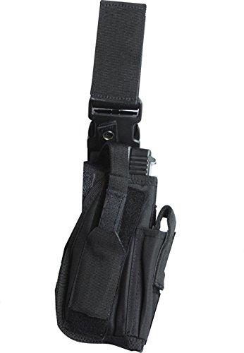 Kombat universel armée britannique Combat SWAT tactique Leg Holster ceinture Noir NEUF US Plce