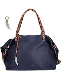 d43546a687b4b Suchergebnis auf Amazon.de für  Blau Braune Tasche  Koffer ...