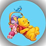 Fondant Tortenaufleger Tortenbild Geburtstag Winnie Pooh N5