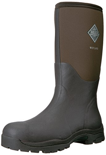 Muck Boots Wetlands Men, Stivali di Gomma Unisex-Adulto Brown