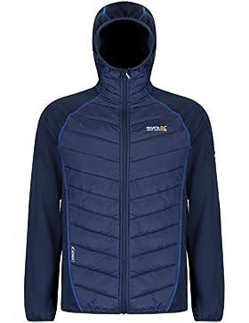 Regatta Andreson II de la flexible de chaqueta Hybrd, hombre, color azul marino, tamaño mediano