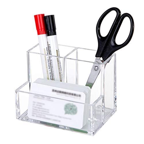 Organisateur Cosmétique Acrylique, Cas de Stockage de Maquillage de Cosmétiques Contenant de Produits de Toilette Ensemble pour La Brosse de Mackup