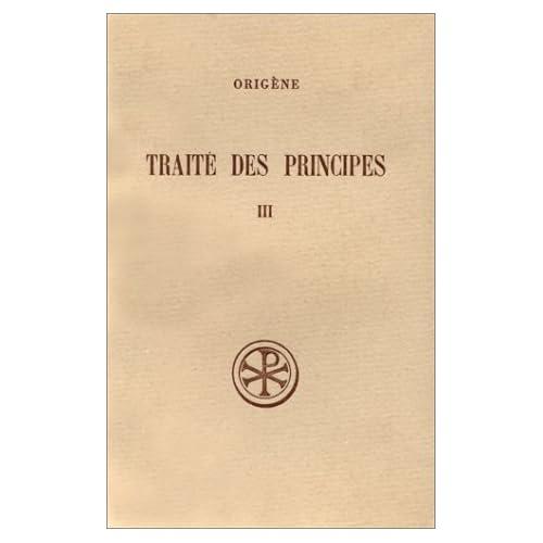 Traité des principes, tome III