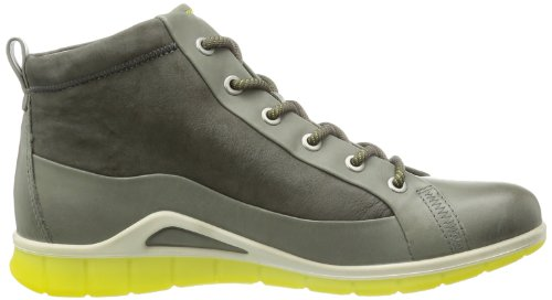 Ecco Agnes Steel/warm Grey Firefly/basalt, basket femme Gris - Grau (STEEL/WARM GREY)