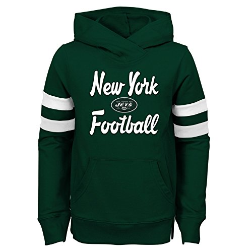 Outerstuff NFL New York Giants Jugend Mädchen Claim to Fame Overlay Hoodie, Mädchen, 9K1G6FACI NYJ B19-GXL16, Hunter Green, Youth Girls X-Large(16) (Giants-mädchen York New)