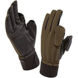 SealSkinz 121142730020 Gants de Chasse Olive, FR : M (Taille Fabricant : M)
