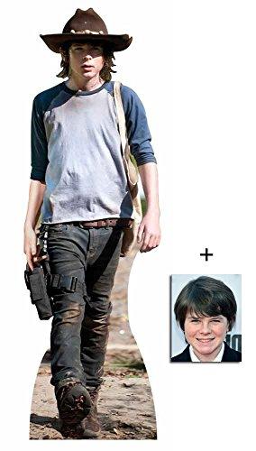 Riggs) The Walking Dead Lebensgrosse Pappaufsteller mit 25cm x 20cm foto (Carl-figur)