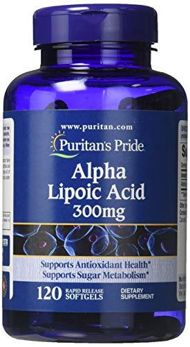 Alpha Lipoic Acid 300 mg 120 Softgels 13578 - Alpha-liponsäure Cap