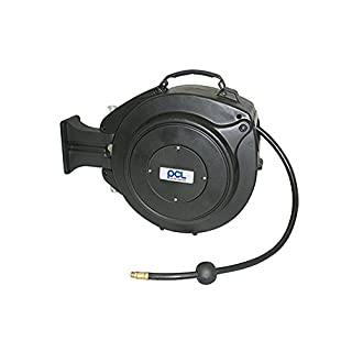 1 stück Schlauchtrommel mit Druckluftschlauch von der Marke PVC PCL 15m / Schlauchwagen / Trommel / Schlauch / Made in England / Druckluft / Werkzeug / Druckluftanschluss 1/4