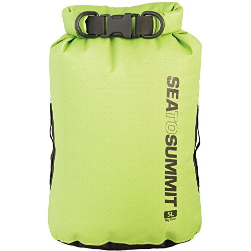 Sea to Summit Adultes Big River Drybag 8L, Vert, Volume 8 L, 420D Nylon Ripstop, TPU laminé, Hypalon Passants Pack Sacs, Multicolore, Taille Unique