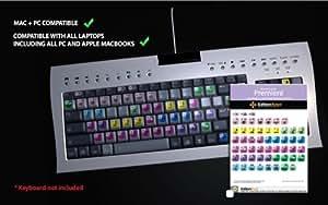 Adobe Premiere cs1-cs4Montage Vidéo autocollant de clavier
