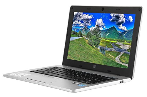 Micromax Canvas Lapbook L1160 11.6-inch Laptop (Intel Quad Core/2GB/32GB/Windows 10/Integrated Graphics), Silver