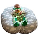 Baby Lounger Baby-Wippe Neugeborene 55 x 55 Baby-Schaukel Lagerungskissen Nestchen Schlaf-Kissen Liege-Kissen Baby-Stuhl