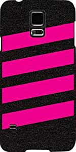 Snoogg Simple Pink 2905 Case Cover For Samsung Galaxy S5