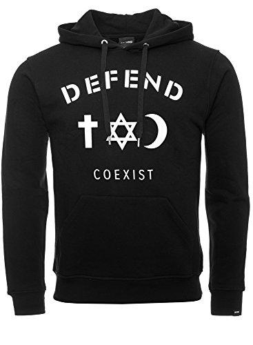 DEFEND PARIS - Sweat-shirt à capuche - Homme Noir - Noir
