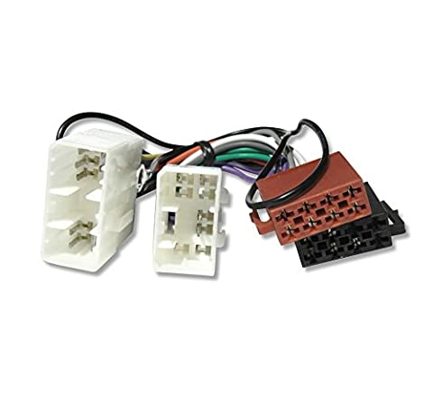 # 1071P # Câble Câble adaptateur Radio de Voiture pour Mazda 121, 323, 626, MX3, MX5, MX6, RX7, Demio, MPV, Premacy, Xedos 6, Xedos 9, B Series, série E