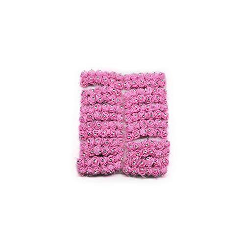 oam Rose geht Zuhause Hochzeitsdekoration-Kranz-Geschenk-Kasten verziert Blume, F04,72pcs ()