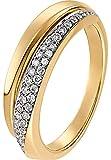 CHRIST Diamonds Damen-Ring 585er Gelbgold 40 Diamant ca. 0,24 Karat gold, 58 (18.5)