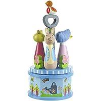 Orange Tree - Peter Rabbit legno Carousel Musical