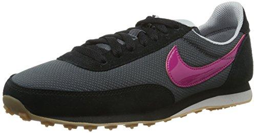 Nike - Scarpe da ginnastica Elite Textile, Donna Nero (Schwarz (Anthrct/Brght Mgnt-Blk-Wlf Gry))