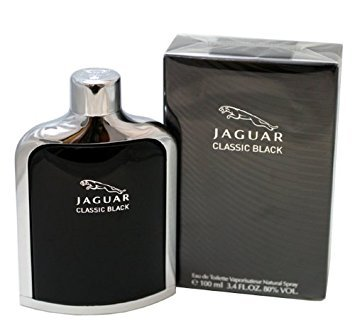 Jaguar Classic Black Jaguar Classic Black by Jaguar Eau De Toilette Spray 3.4 Oz / 100 Ml for Men