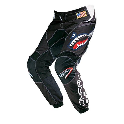 O'Neal Element MX Hose Afterburner Schwarz Blau Motocross Enduro Offroad, 0124A-8, Größe 28/44 -