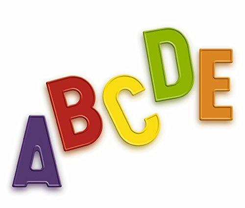 Quercetti 5461 - Magnetbuchstaben GroßbuchstabenŸ, 48-teilig (Abc-großbuchstaben Alphabet-magnete)