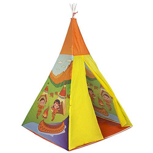 ColorBaby - Tienda de campaña india - 100x100x135 cm (42764)