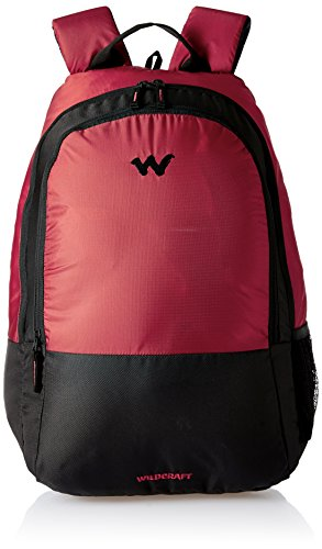 Buy Wildcraft (AM LBP1) 21 Ltrs Red Laptop Backpack Online at Best Price in India