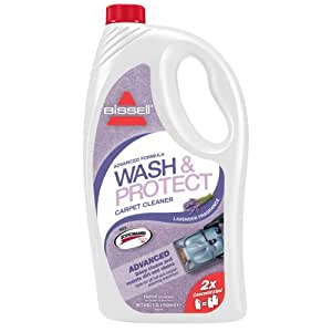 BISSELL Wash and Protect Lavender Fragrance Carpet Cleaning Solution with Scotchgard