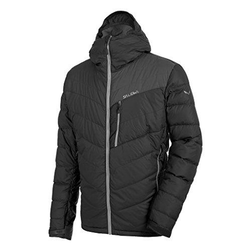 Salewa m ortles down jacket-black out-légère et chaude duvet veste de ski pour homme Noir - Noir