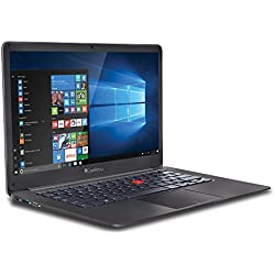 iBall Premio v2.0 CompBook 14-inch Laptop (Pentium Quad Core N4200/4GB/500GB/Windows 10/Integrated Graphics)