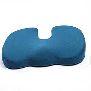 Komfort-Orthopädisches Kissen Gedächtnis Schaum Sitz Kissen Für Steißbein-Und Unterere Rückseitige Schmerzlinderung, Druck Entlastung