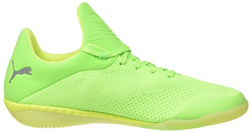 Puma Herren 365 Evoknit Ignite Ct Laufschuhe, 44 EU Grün (green gecko-puma white-safety yellow 02)