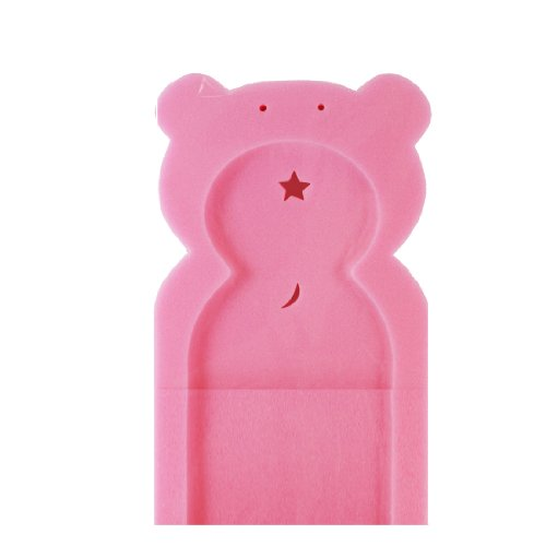 First Steps Baby Bath Time Bath Tub Support Sponge in Teddy Bear Shape for Babies from Newborn