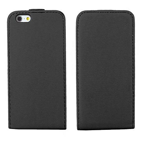 """ebestStar - pour Apple iPhone 6S 6 Plus écran 5,5"""" - Housse Coque Etui à rabat PU cuir ULTRA FIN (ultra slim case) + Mini Stylet tactile + 3 Films protection écran, Couleur Violet [Dimensions PRECISES Noir"""