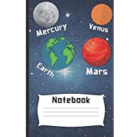 Notebook: (All the Planets Notebook for Kids): Each Entry is Narrow Lined and Also Includes Blank To-Do List/Appointment Boxes to Keep You on Track Daily.