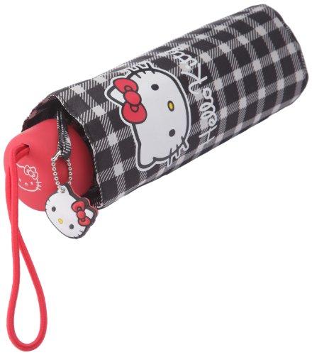 Sanrio paraguas-Hello Kitty-cuadros Mini-azul